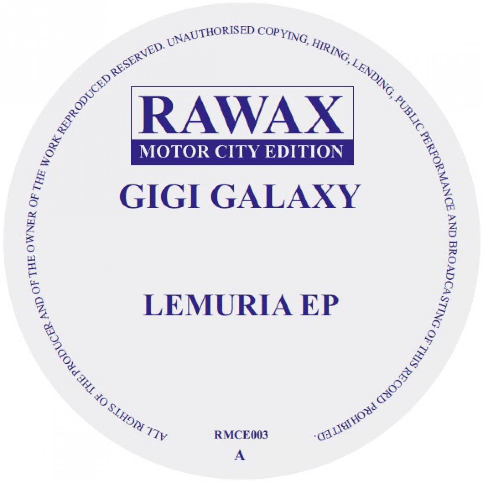 Gigi Galaxy Lemuria EP
